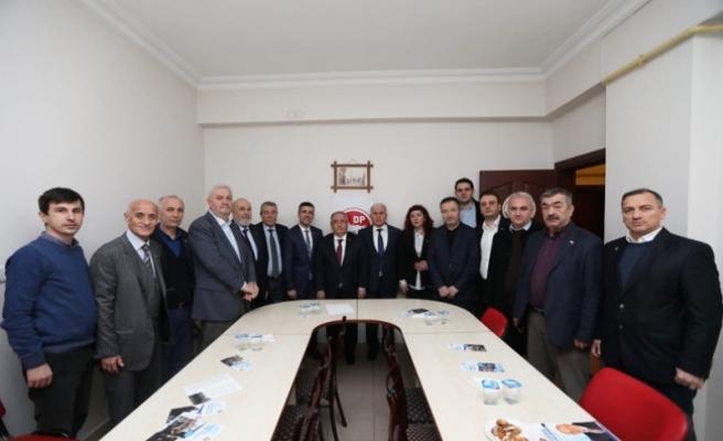 Vali Nayir'den Siyasi Partilere İade-i Ziyareti