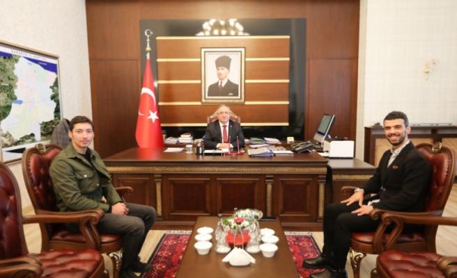 Milletvekili Sofuoğlu'ndan Vali NAYİR'e Ziyaret