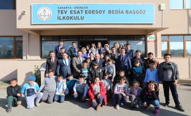 Vali NAYİR'den okul ziyaretleri devam ediyor