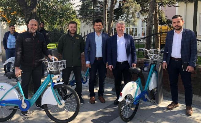 Akıllı Bisikletler hizmete başladı