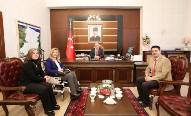 Bakan Danışmanı KARABURUN'dan Vali NAYİR'e ziyaret