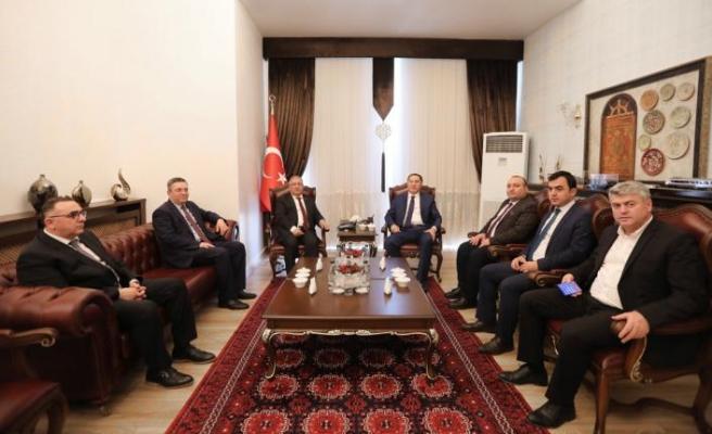 Kamu Başdenetçisi Malkoç Vali Nayir'i Ziyaret Etti