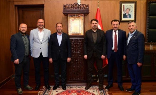 MÜSİAD Başkanı Coşkun, Kahramanmaraş'ta
