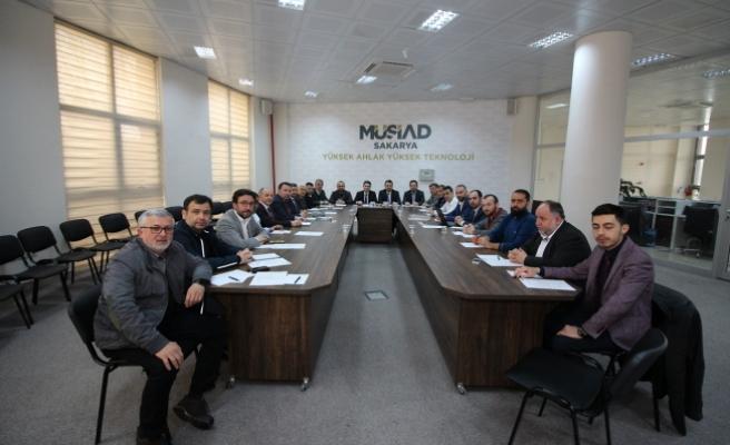 MÜSİAD' ın 9 Şubesi Sakarya'da Toplandı.