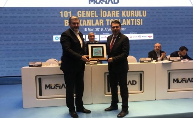 MÜSİAD Sakarya, Afyon'dan Türkiye Birincisi olarak döndü