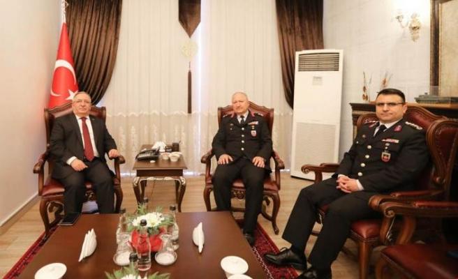 Tuğgeneral Engin Çırakoğlu'ndan Vali Nayir'e Ziyaret