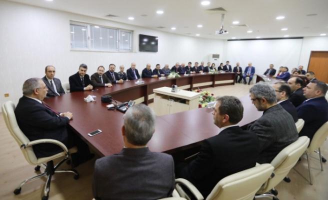 Vali Nayir'e Tıp Bayramı Ziyareti