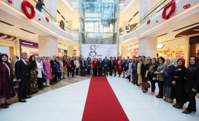 Vali NAYİR El Emekleri Ürünleri Sergisinin Açılışını yaptı