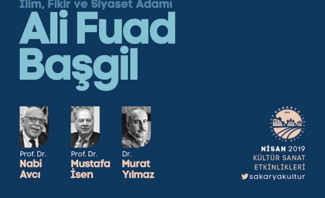 Ali Fuad Başgil AKM'de anılacak