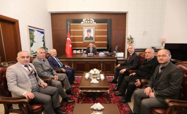 Hendek Belediye Başkanı Babaoğlu'ndan Vali Nayir'e Ziyaret