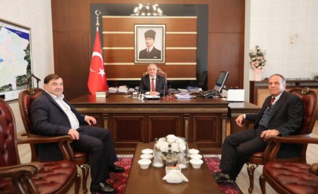 Türkiye Güreş Federasyonu Başkanından Vali Nayir'e Ziyaret