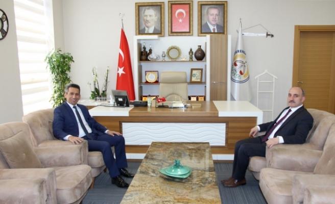 Baro Başkanı Burak'tan Kılıç'a ziyaret