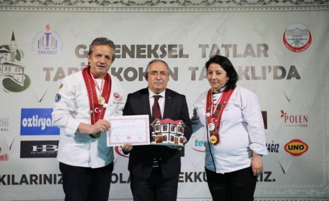 Geleneksel Tatlar Tarih Kokan Taraklı'da Yemek Yarışması Düzenlendi