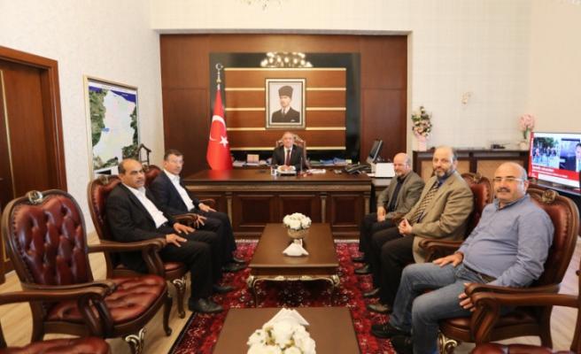 Şanlıurfa STK İnsani Yardım Platformundan Vali Nayir'e Ziyaret