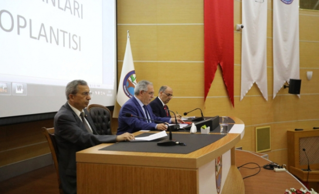 Vali Nayir Kaymakamlar ve İl İdare Şube Başkanları İle Toplantıda Bir Araya Geldi