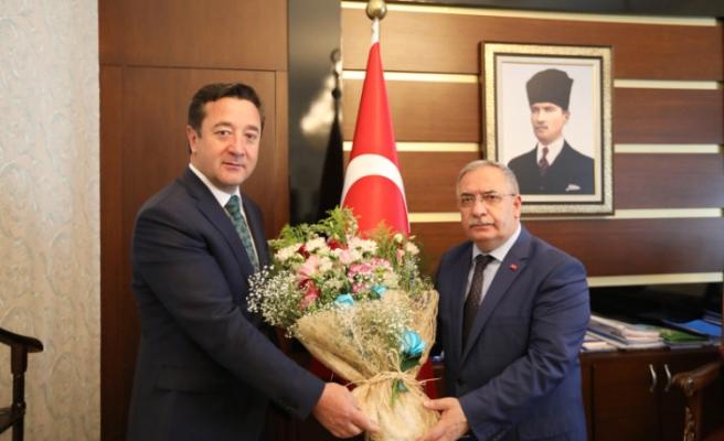 Vali Nayir'e Sosyal Güvenlik Haftası Ziyareti