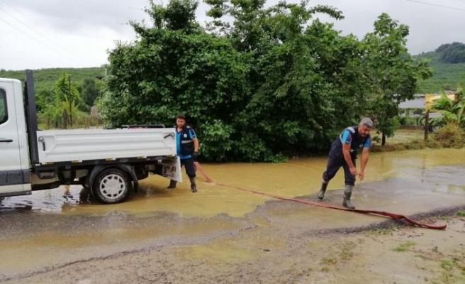 Kocaali'de metrekareye 50 kilogram yağış