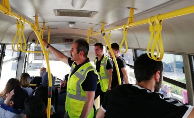 Toplu taşımada öncelik vatandaş memnuniyeti
