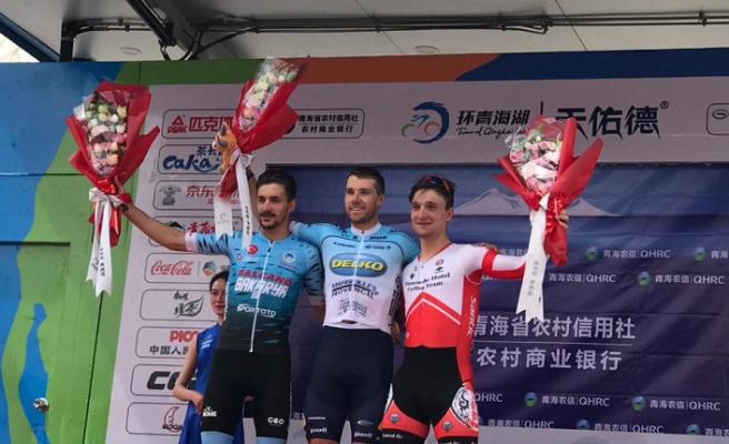 Büyükşehirli sporcu Çin'de ikinci oldu