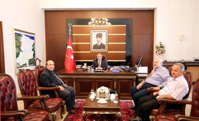 Fenerbahçe Üniversitesi Rektöründen Vali Nayir'e Ziyaret
