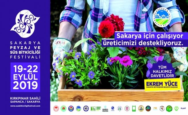 Peyzaj ve Süs Bitkiciliği Festivali başlıyor