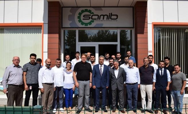 SAMİB üyelerine TSE tarafından bilgilendirme yapıldı