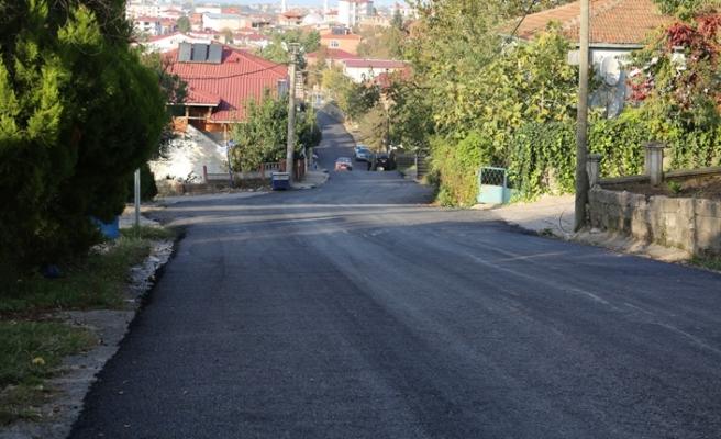 Yeni Mahalle'de asfalt çalışmaları tamamlandı