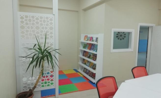 Özel çocuklar için yeniden tasarlanmış destek eğitim odaları kuruldu