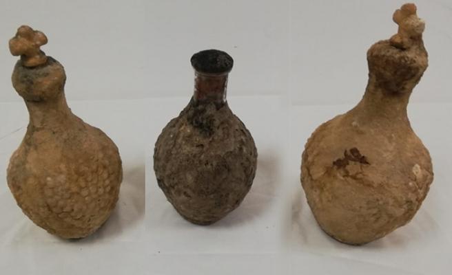 Üç Adet Tarihi Toprak Testi Ele Geçirildi
