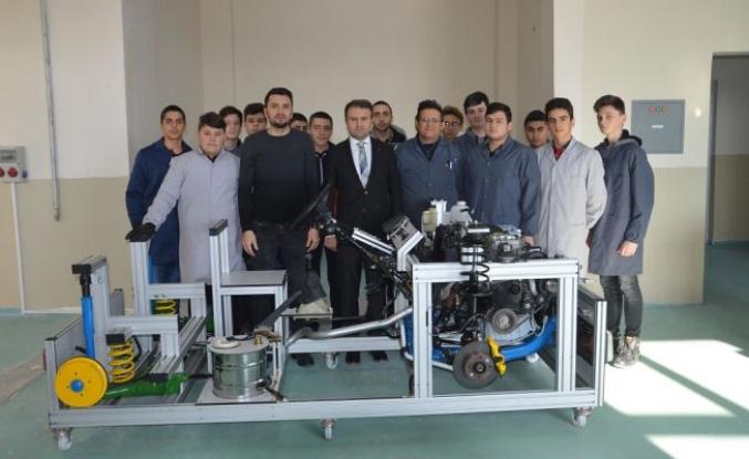Geleceğin Yerli ve Milli, Motor Mühendisleri Bu Okulda Yetişiyor