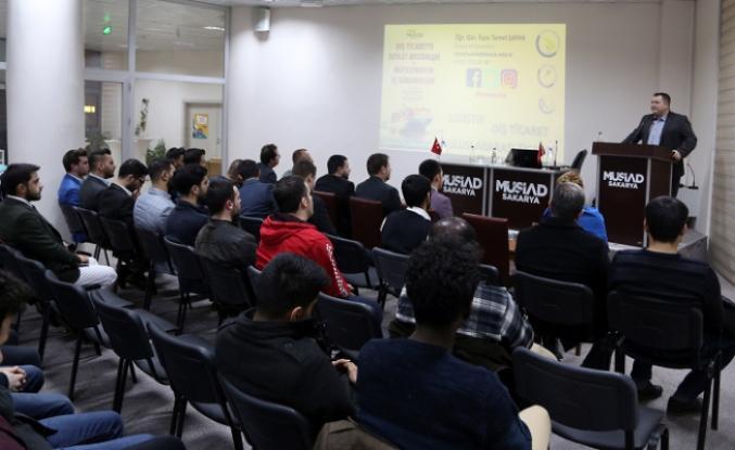 Genç Müsiad'da Dış Ticarette Devlet Destekleri ve Müteşebbisin İç Dinamikleri Konuşuldu