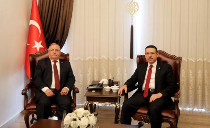 Sayıştay Başkanı Baş'tan Vali Nayir'e Ziyaret