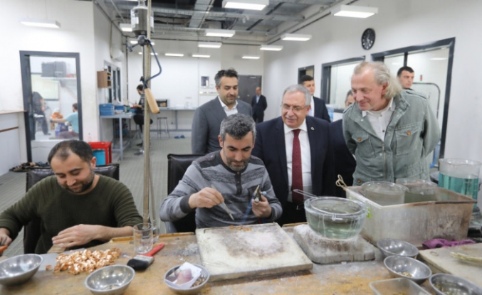 Vali Nayir İş Dünyası Ziyaretlerine Devam Ediyor