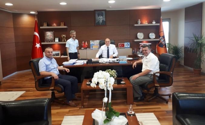 Başkan Sarı, Karayolları İstanbul Bölge Müdürü Çolak ile Görüştü