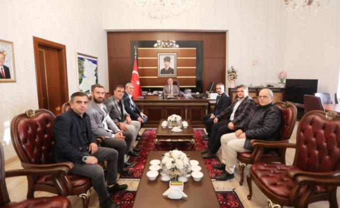 Sakaryaspor Yeni Yönetiminden Vali Nayir'e Ziyaret