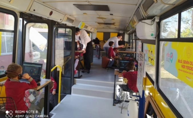 EBA Mobil Destek Aracı Erenler İlçesi Mahallelerinde