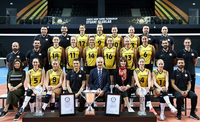 VakıfBank'tan 2020'de 47 maçta 45 galibiyet
