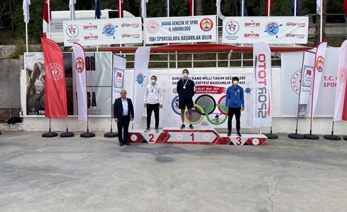 Büyükşehir kano sporcusu olimpiyat kota yarışmalarına katılacak