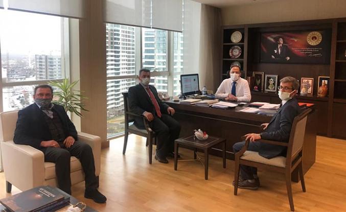 Belediye Başkanı İshak Sarı'nın Başkent Ziyaretleri Devam Ediyor