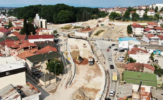 SGK Köprülü Kavşağı yüzde 60 seviyesine ulaştı
