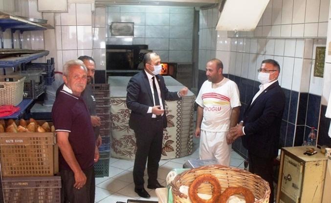 CHP li İki vekil Purçu ve Aygun Taraklı'da Halık sorunlarını dinledi