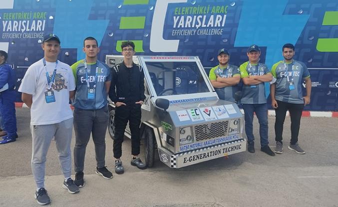 SATSO Proje Okulundan TEKNOFEST Elektrikli Araç Yarışmalarında Büyük Başarı