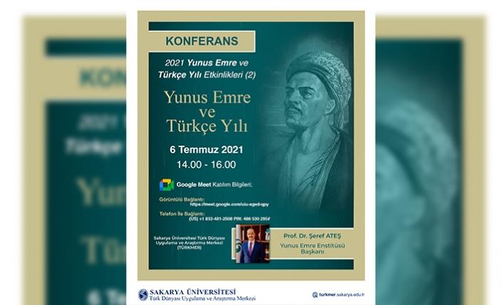 Yunus Emre ve Türkçe Yılı Etkinliği Düzenlendi