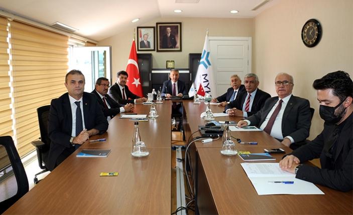 Rektör Sarıbıyık MYK Başkanvekili seçildi