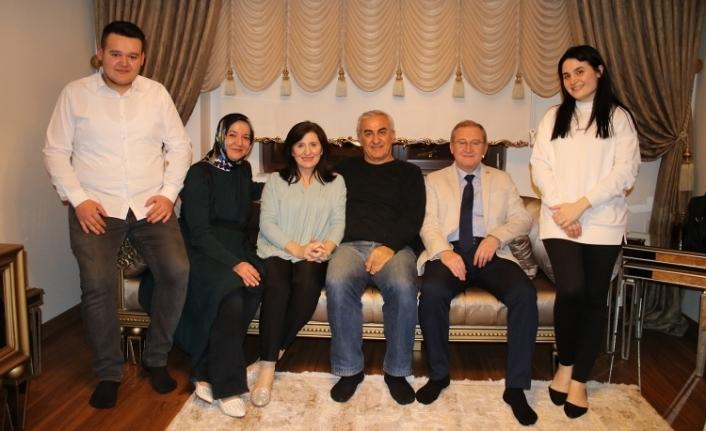 Şüayip ÜR Aile Ziyaretlerini sürdürüyor