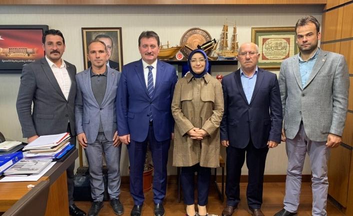 Başkan Gündoğdu ve meclis üyelerinden Ankara çıkartması