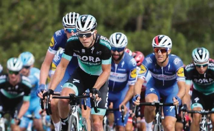 Cumhurbaşkanlığı bisiklet turu'nun ikinci etabı bisiklet vadisi'nde