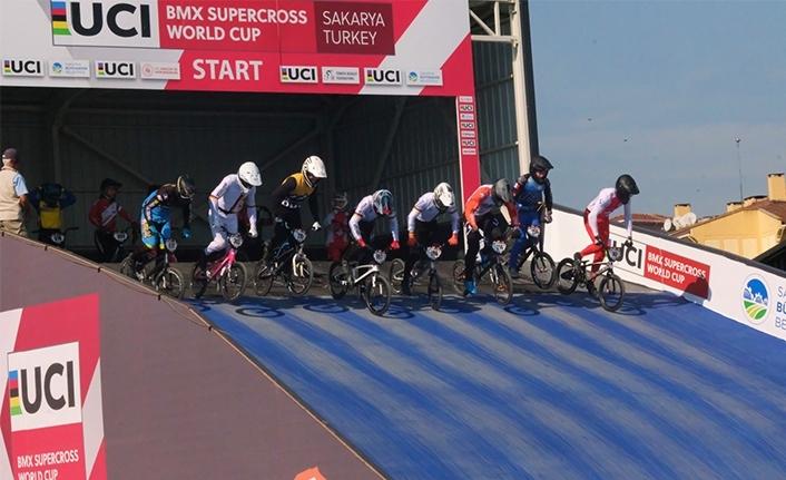 Türkiye'de bir ilk: BMX Dünya Kupası'nda kıyasıya mücadele başladı